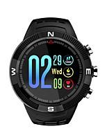 baratos -Relógio inteligente DF18 para Android iOS Bluetooth satélite Esportivo Impermeável Monitor de Batimento Cardíaco Calorias Queimadas Cronómetro Podômetro Aviso de Chamada Monitor de Sono