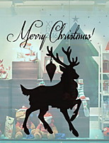 baratos -Filme de Janelas e Adesivos Decoração Natal Férias PVC Adesivo de Janela