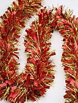 Недорогие -Орнаменты Праздник пластик Круглый Оригинальные Рождественские украшения
