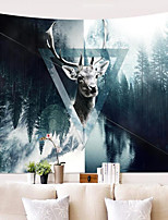 Недорогие -Elk Декор стены 100% полиэстер Modern Предметы искусства, Стена Гобелены Украшение