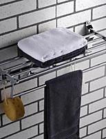 Недорогие -Держатель для полотенец Креатив Современный Нержавеющая сталь 1шт Двуспальный комплект (Ш 200 x Д 200 см) На стену
