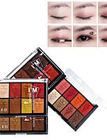 abordables -4 couleurs Fards à Paupières Lady / Œil durable Etanche Maquillage Quotidien / Maquillage de Fête Maquillage Cosmétique