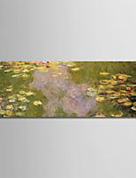 abordables -Imprimé Impressions sur toile roulées - Célèbre / A fleurs / Botanique Moderne