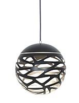 baratos -UMEI™ Esfera / Geométrica / Novidades Luzes Pingente Luz Descendente Acabamentos Pintados Metal Acrílico Criativo, Ajustável, LED 110-120V / 220-240V Branco Quente / Branco Fonte de luz LED incluída