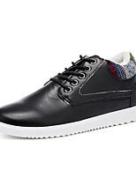 abordables -Homme Chaussures de confort Faux Cuir Hiver Basket Garder au chaud Noir / Bleu de minuit / Kaki