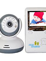 """Недорогие -монитор для младенцев 9020d 380tvl 1/4 """"cmos 70 ° ночного видения диапазон 2-3 м 2.4ghz 2.4"""" tft lcd"""