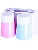 Недорогие -Стакан для зубных щеток Влажная чистка Модерн ПВХ 1шт Зубная щетка и аксессуары