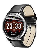 abordables -Bracelet à puce Indear-N58 pour Android iOS Bluetooth Sportif Imperméable Moniteur de Fréquence Cardiaque Mesure de la pression sanguine Ecran Tactile ECG + PPG Podomètre Rappel d'Appel Moniteur