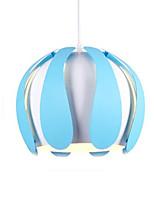 baratos -QIHengZhaoMing Lustres Luz Ambiente Galvanizar Acrílico 110-120V / 220-240V Branco Quente