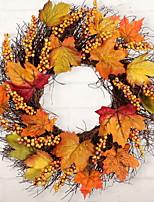 Недорогие -Праздничные украшения Рождественский декор Рождественские украшения Оригинальные Светло-желтый 1шт