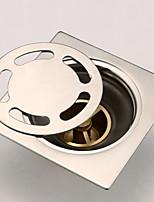Недорогие -Слив Новый дизайн / Cool Modern Нержавеющая сталь 1шт На стену