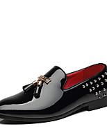 abordables -Homme Chaussures de confort Faux Cuir Printemps été Classique / Décontracté Mocassins et Chaussons+D6148 Ne glisse pas Noir / Rouge / Bleu / Gland / Soirée & Evénement / Gland / Soirée & Evénement