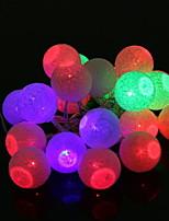 Недорогие -3.5м Гирлянды 20 светодиоды Разные цвета Декоративная / Cool Аккумуляторы AA