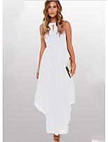 baratos -Mulheres Elegante balanço Vestido Longo