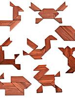 Недорогие -Деревянные пазлы деревянный 1 pcs Детские Все Игрушки Подарок