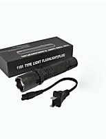 abordables -1501   1501 lm Lampes Torches LED LED Manuel Mode ZQ-X947 - Transport Facile / Poids Léger