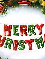 Недорогие -Праздничные украшения Рождественский декор Рождественские украшения Декоративная / Cool Красный 1шт