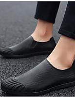 abordables -Homme Chaussures de confort Cuir Printemps & Automne Mocassins et Chaussons+D6148 Noir / Brun claire / Brun Foncé