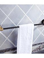 abordables -Barre porte-serviette Design nouveau / Cool Moderne Acier inoxydable / fer 1pc Barre à 1 serviette Montage mural