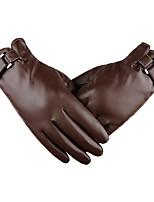 abordables -Doigt complet Homme Gants de moto Cuir Ecran tactile / Garder au chaud