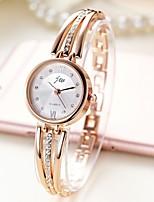 baratos -Mulheres Bracele Relógio Quartzo Relógio Casual Aço Inoxidável Banda Analógico Rígida Fashion Prata / Dourada - Prata Dourado