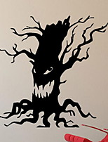 abordables -Décorations de vacances Décorations d'Halloween Halloween divertissant Décorative Noir 1pc