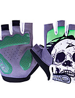 Недорогие -Спортивные перчатки Перчатки для велосипедистов Дышащий / Пригодно для носки / Мягкость Без пальцев Лайкра / Силиконовый гель Шоссейные велосипеды / Велосипедный спорт / Велоспорт / Мотобайк