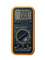 Недорогие -Портативный цифровой мультиметр vc9808 lcd для дома и автомобиля
