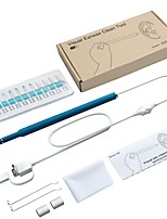 abordables -5,5 mm oreille cuillère pour enfants 2 en 1 oreille endoscope oreille visuelle cuillère / lumière oreille cuillère oreille oreille artefact