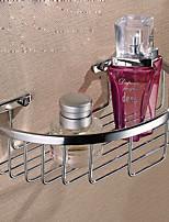 Недорогие -Полка для ванной Новый дизайн / Cool Modern Нержавеющая сталь 1шт На стену
