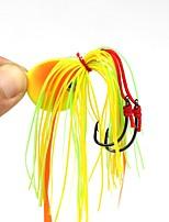 Недорогие -1 pcs Джиг головка (мормышка) Jig Head Свинцовые Прост в применении Морское рыболовство / Ловля нахлыстом / Ловля на приманку