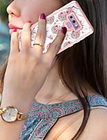 Недорогие -BENTOBEN Кейс для Назначение SSamsung Galaxy Note 9 Защита от удара / С узором / Wireless Charging Receiver Case Чехол Фрукты / Мрамор Твердый ТПУ / ПК для Note 9