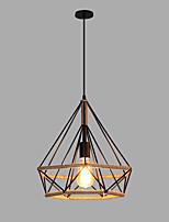 baratos -Lanterna Luzes Pingente Luz Ambiente Acabamentos Pintados Metal 110-120V / 220-240V Lâmpada Não Incluída / SAA