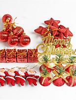 Недорогие -Рождественские украшения Новогодняя ёлка пластик Для вечеринок Рождественские украшения