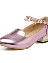 abordables -Femme Escarpins Polyuréthane Printemps Chaussures à Talons Talon Bottier Or / Argent / Rose