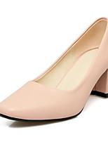 abordables -Femme Escarpins Polyuréthane Printemps Chaussures à Talons Talon Bottier Beige / Rouge / Rose