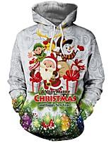 abordables -Inspiré par Cosplay Cosplay Manga Costumes de Cosplay Cosplay à Capuche Noël Sweat à capuche Pour Homme Déguisement d'Halloween