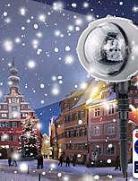 Недорогие -brelong christmas led наружный снежинка проектор пульт дистанционного управления 1 шт.
