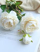 Недорогие -Искусственные Цветы 1 Филиал Классический Свадьба / Свадебные цветы Пионы Букеты на стол