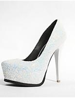 abordables -Femme Chaussures de confort Matière synthétique Printemps Chaussures à Talons Talon Aiguille Blanc / Noir / Rose / Mariage / Quotidien
