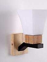 baratos -Proteção para os Olhos Moderno / Contemporâneo Luminárias de parede Quarto / Quarto de Estudo / Escritório Metal Luz de parede 110-120V / 220-240V 40 W