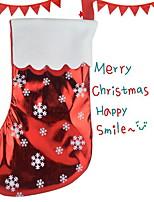 Недорогие -Чулки Праздник Ткань Оригинальные Рождественские украшения
