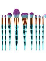 billiga -12st Makeupborstar Professionell Ytterkläder / Rougeborste / Ögonskuggsborste Nylon fiber Fullständig Täckning