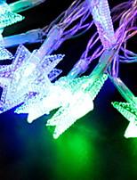 Недорогие -6м Гирлянды 50 светодиоды Разные цвета Новый дизайн / Декоративная / Cool Аккумуляторы AA