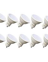 billiga -EXUP® 10pcs 7 W 630 lm GU10 LED-spotlights 12 LED-pärlor SMD 2835 Varmvit / Kallvit 110-130 V
