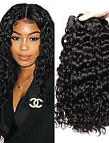 abordables -Lot de 3 Cheveux Péruviens Ondulation 8A Cheveux Naturel humain Tissages de cheveux humains Bundle cheveux One Pack Solution 8-28 pouce Couleur naturelle Tissages de cheveux humains Classique