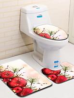 Недорогие -3 предмета На каждый день Коврики для ванны 100 г / м2 полиэфирный стреч-трикотаж Животное нерегулярный обожаемый