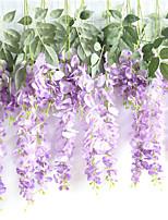 abordables -Fleurs artificielles 1 Une succursale Fixation Murale / Suspendu Rustique / Mariage Fleurs éternelles Corbeille Fleur
