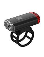 baratos -Luz Frontal para Bicicleta LED Luzes de Bicicleta Ciclismo Impermeável, Criativo, Invisível Li-Ion 50 lm Vermelho Campismo / Escursão / Espeleologismo / Ciclismo / Pesca