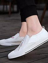 abordables -Homme Chaussures de confort Microfibre Eté Mocassins et Chaussons+D6148 Blanc / Noir / Kaki